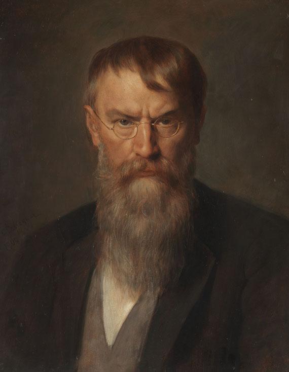 Franz_von_Defregger_Portrat_Franz_von_Lenbach_1907