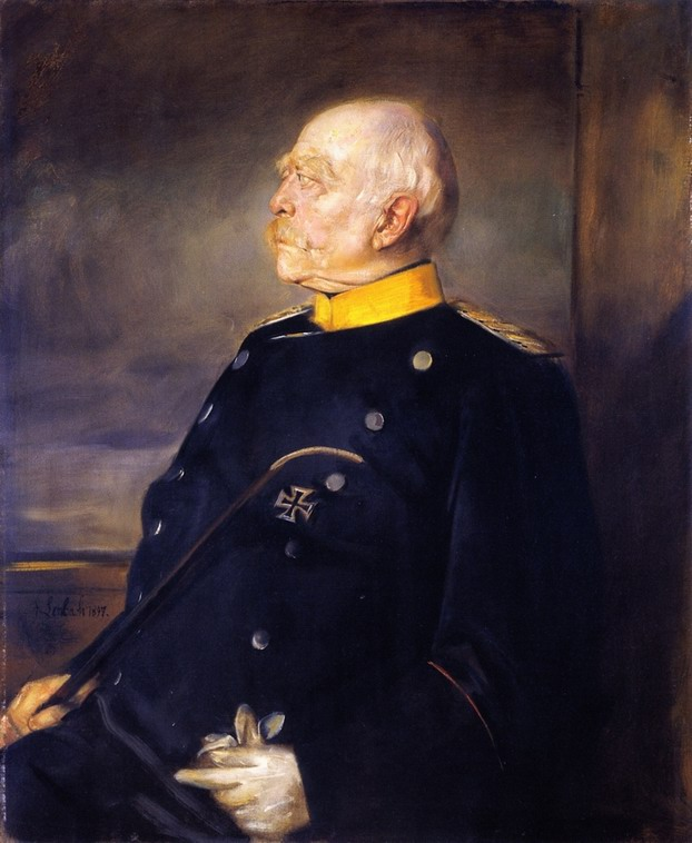 Resize of Franz von Lenbach (1836-1904)Bismarck in Uniform 1897- Catherine La Rose