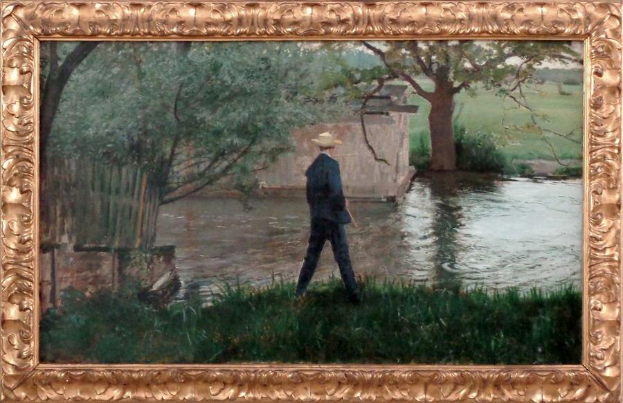 Thonas Theodor Heine - Der Angler, 1892