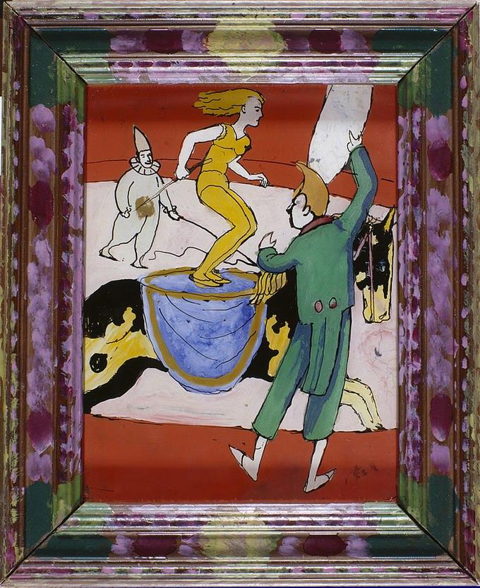 Macke  im zirkus 1911