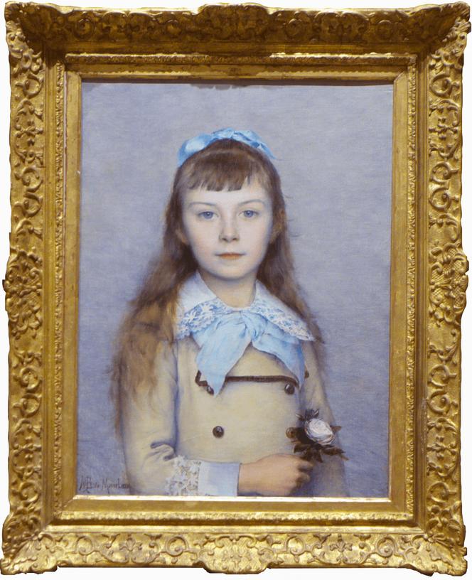 Современное искусство в музее Крайслера Resize of DeMonver Portraiit of the young girl-min