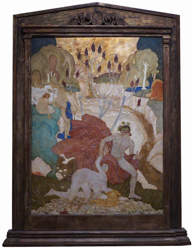 Современное искусство в музее Крайслера Eugene Francis Savage Bacchanal 1920