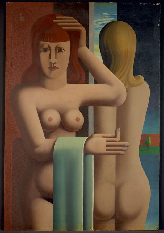 Кёльн, Музей Людвига Hoerle, Heinrich, Zwei Frauenakte, 1930