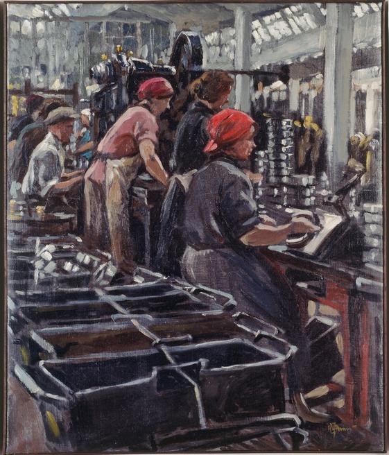 Finogenoff, Konstantin Iwanowitsch, Die Fabrik, 1931