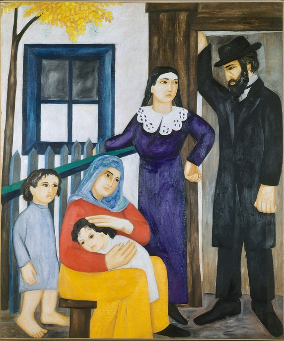 Goncharova, The Jewish Family 1912