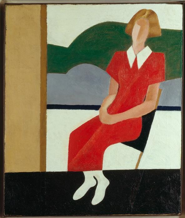 Lapin, Lew Pawlowitsch, Sitzendes Madchen, 1932