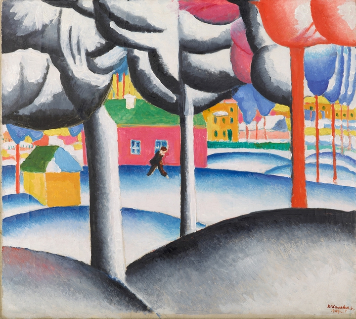 Malewitch, (Landscape (Winter) 1927