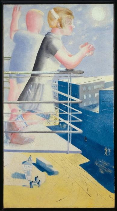 Pimenoff, Jurij Iwanowitsch, Kinder der Stadt, 1930