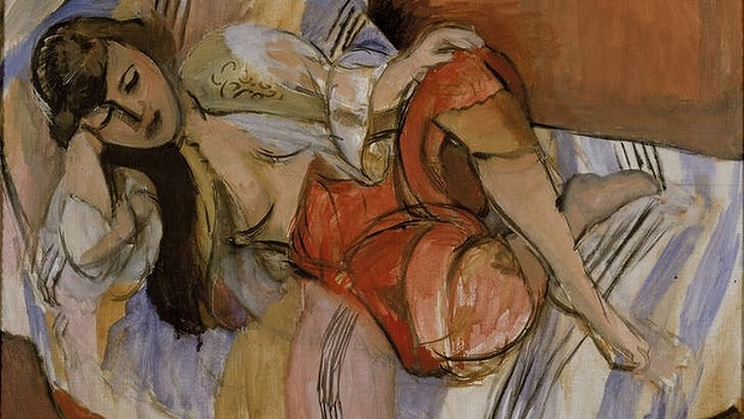 Resize of Odalisque by Henri Matisse