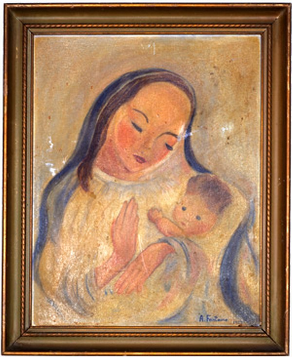 MADONNA AND CHILD III