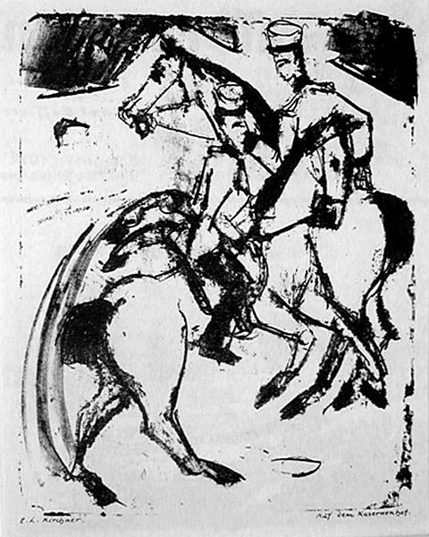 Kirchner_Horseyard