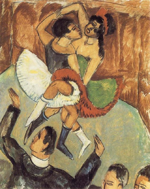 Negro Dance Ernst Ludwig Kirchner