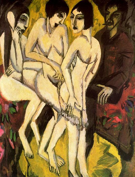Ernst-Ludwig-Kirchner-The-Judgement-of-Paris