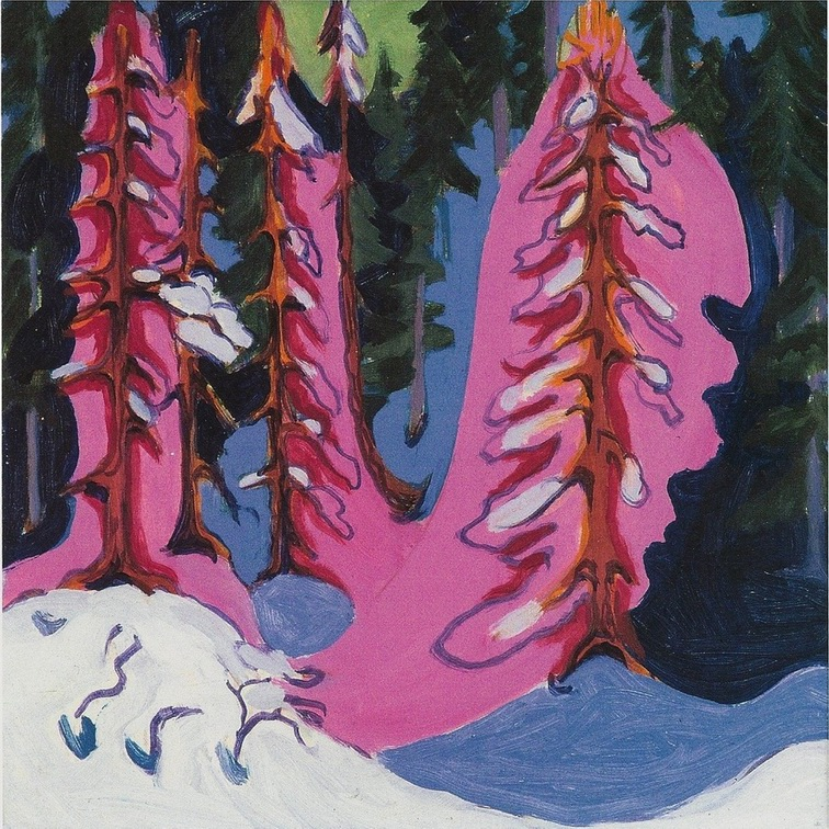 Ernst Ludwig Kirchner - At the forest edge