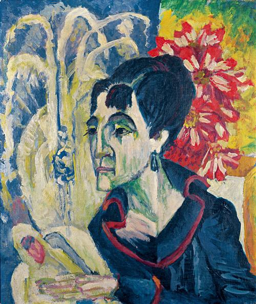 08-Kirchner_Kopf_Erna_1917