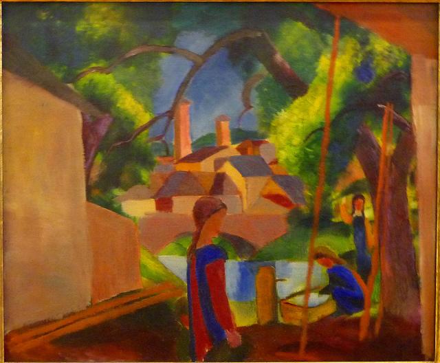 August Macke - Kinder am Brunnen (2) (1914
