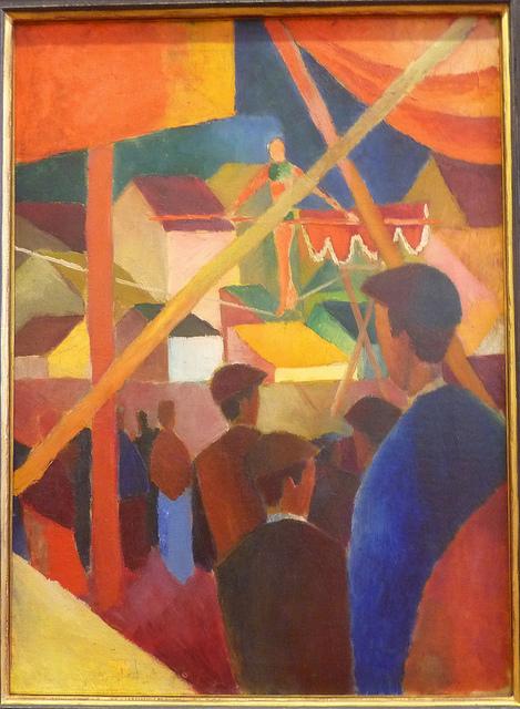 August Macke - Seiltänzer (2) (1914)
