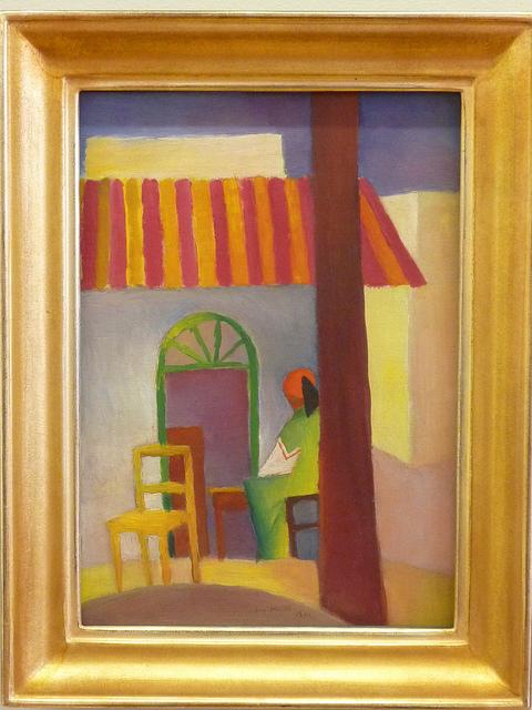 August Macke - Türkisches Café (1914)