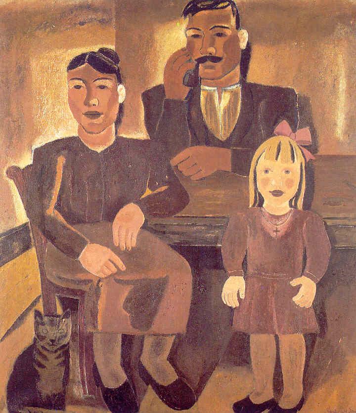 Gustave De Smet - La Famille