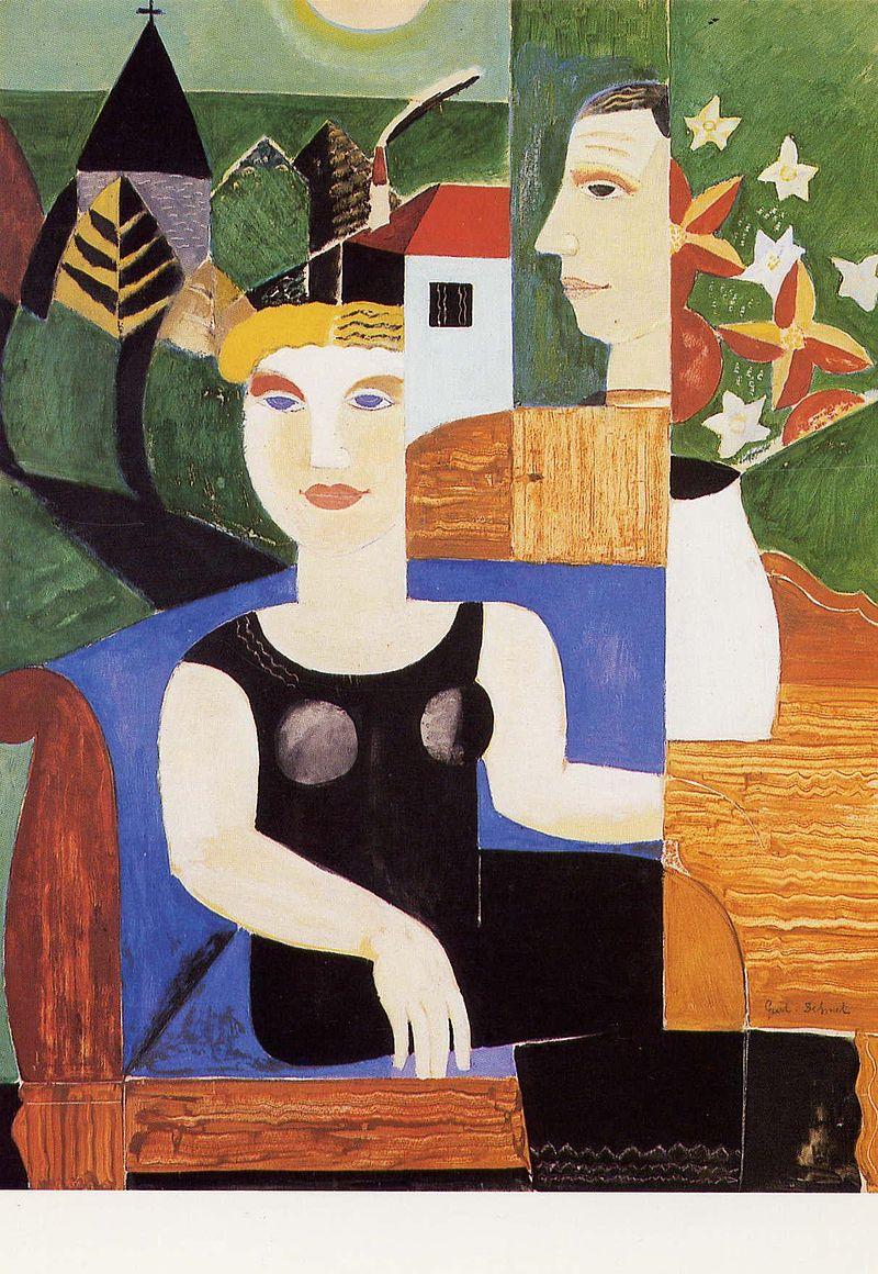 L'artiste et sa femme