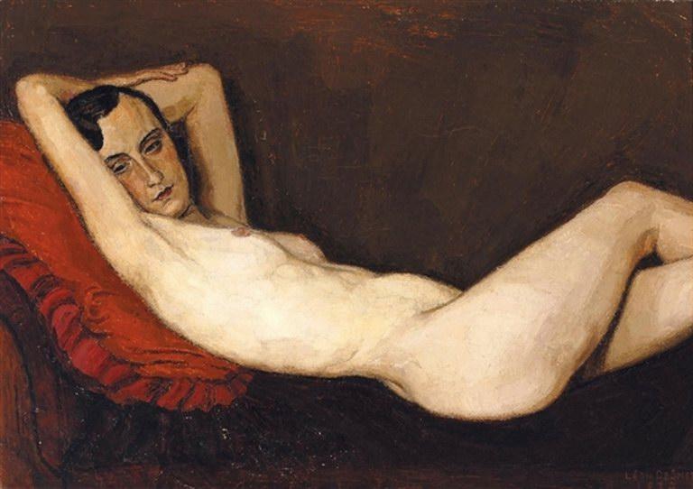 Leon de Smet. Nu couche 1932