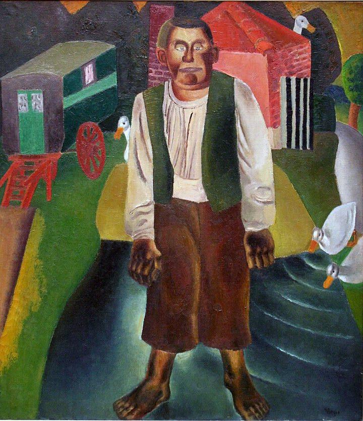 Идиот у пруда (1926)