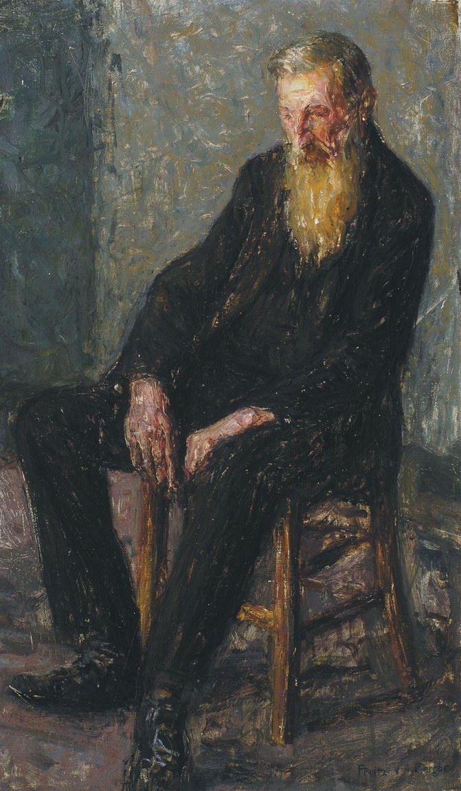 Frits van den Berghe Portret van Een Oudeman ca. 1905