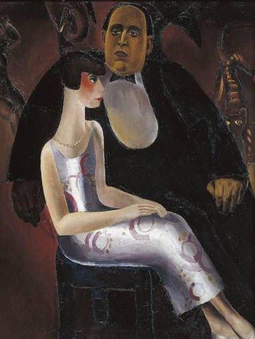 Frits Van den Berghe - Paul Gustave Van Hecke and His Wife Norine De