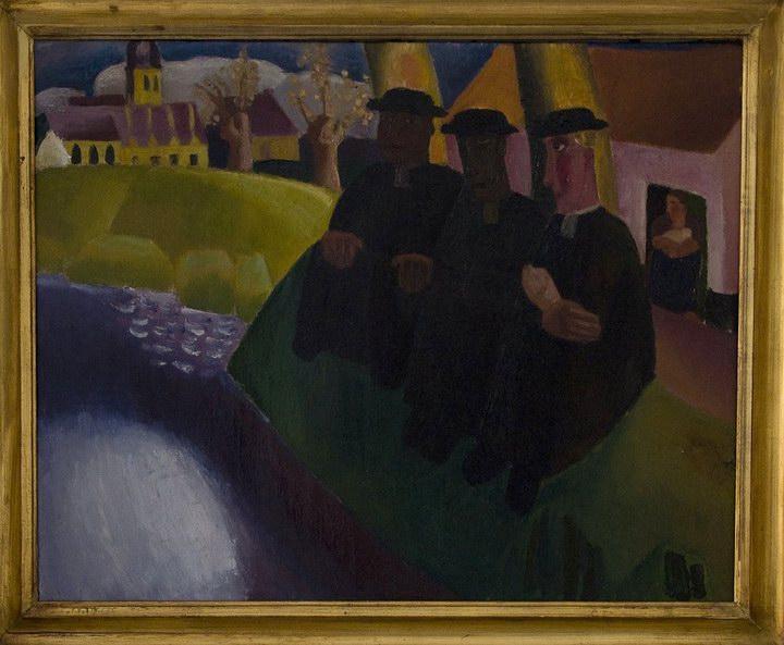 Frits_van_den_Berghe_Vissers_aan_de_Leie_(1923)_12-02-2010_14-43-16