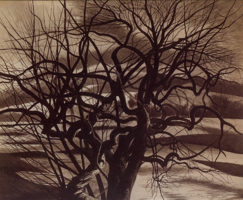 1.Arbres, blanc et noir (1941)