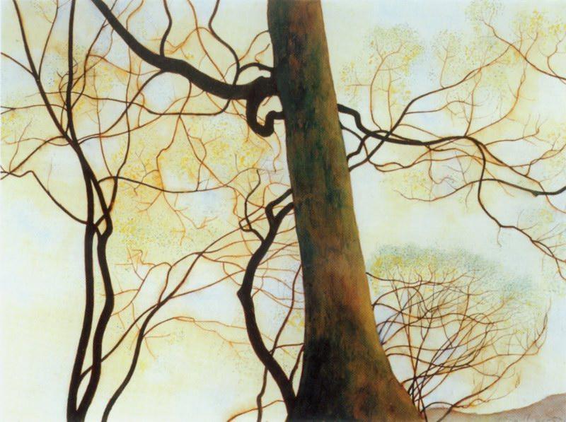 3.Tronc de hetre et branches au printemps (1930)