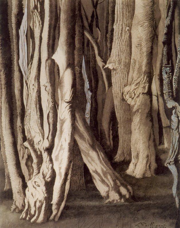 5. Troncs noueux (1938)