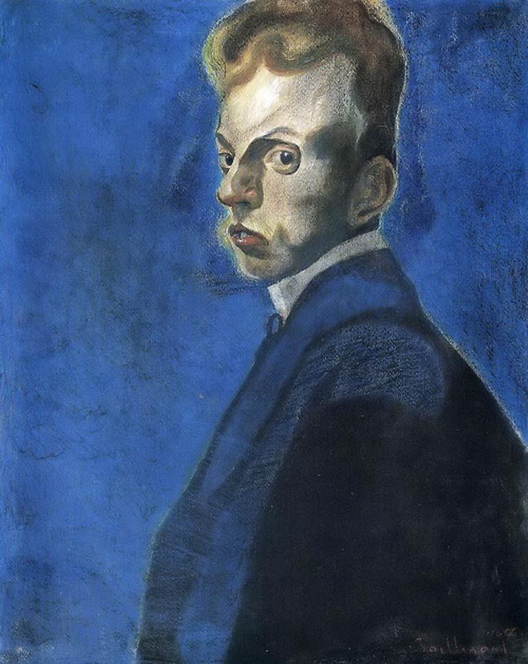 lc3a9on-spilliaert-autoportrait-1907