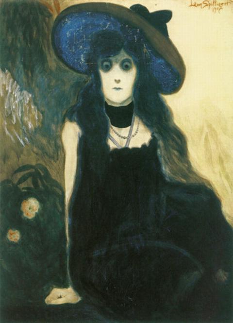 Leon Spilliaert-The Absinthe Drinker-1907