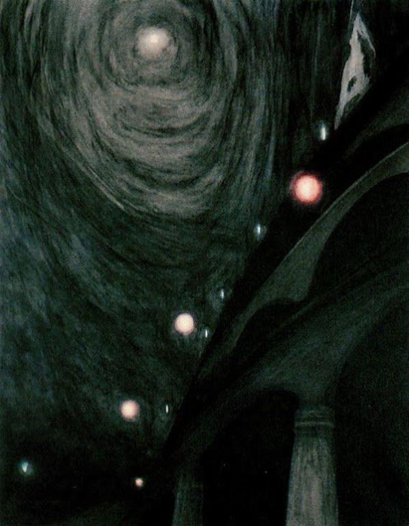 Moonlight and Light (1909) by Leon Spilliaert