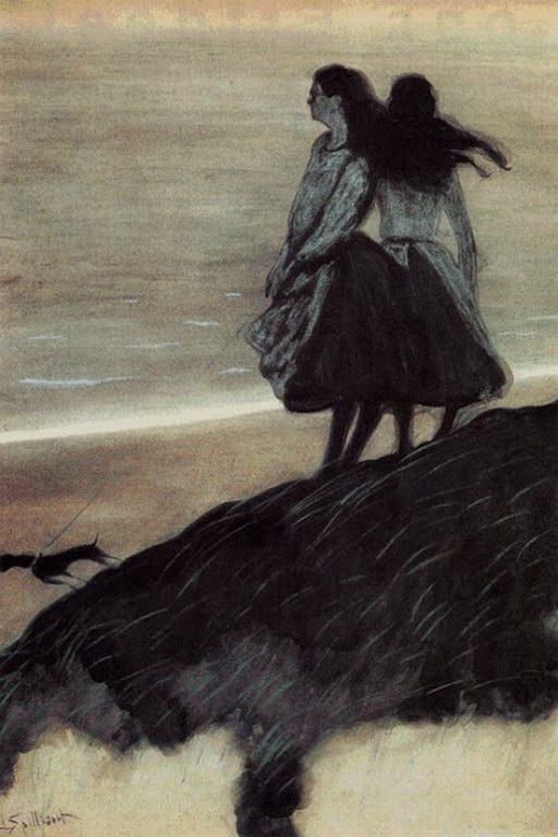 Leon Spilliaert-Girls on a Dune-2