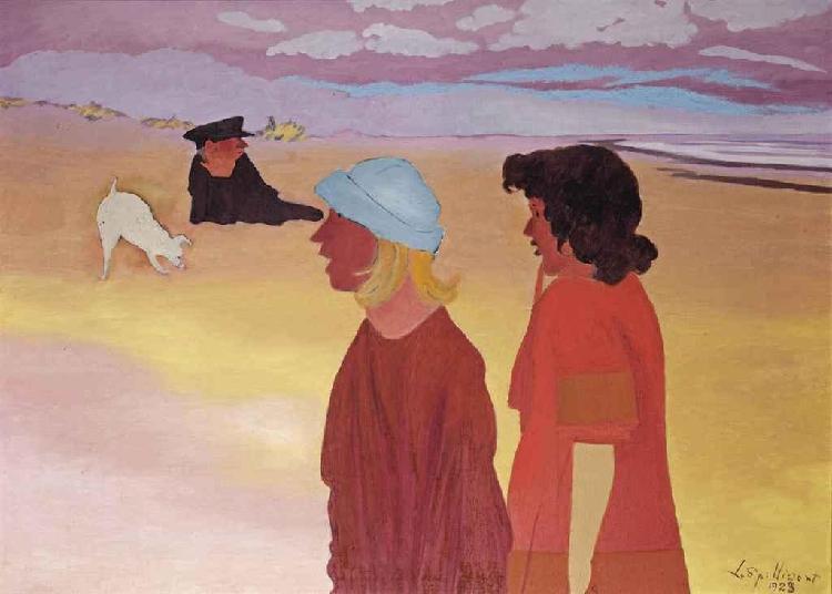 Girls on the beach 1923