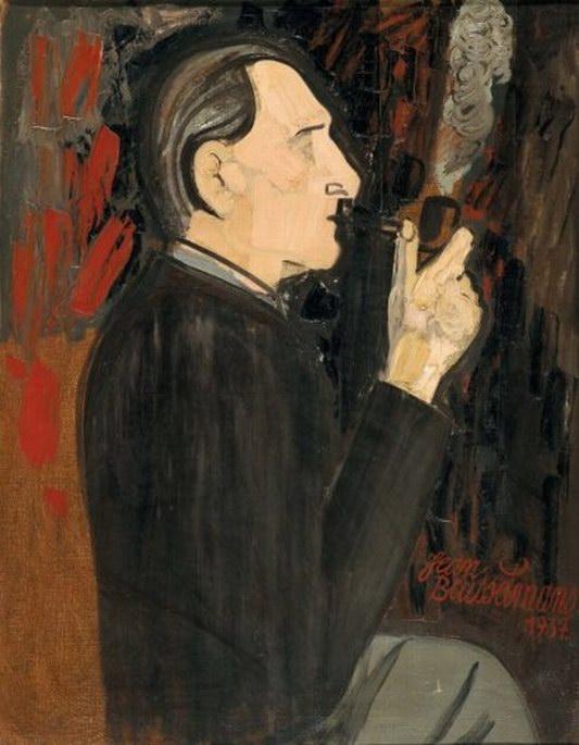 Jean Brusselmans (1884-1953) Autoportrait, 1937