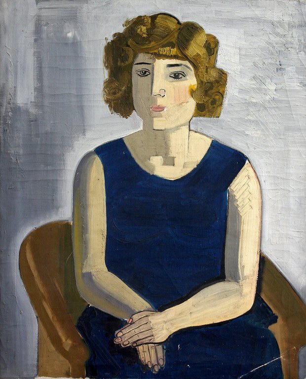 Portrait of a young girl, 1937