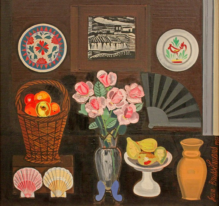 Still life with roses, 1937