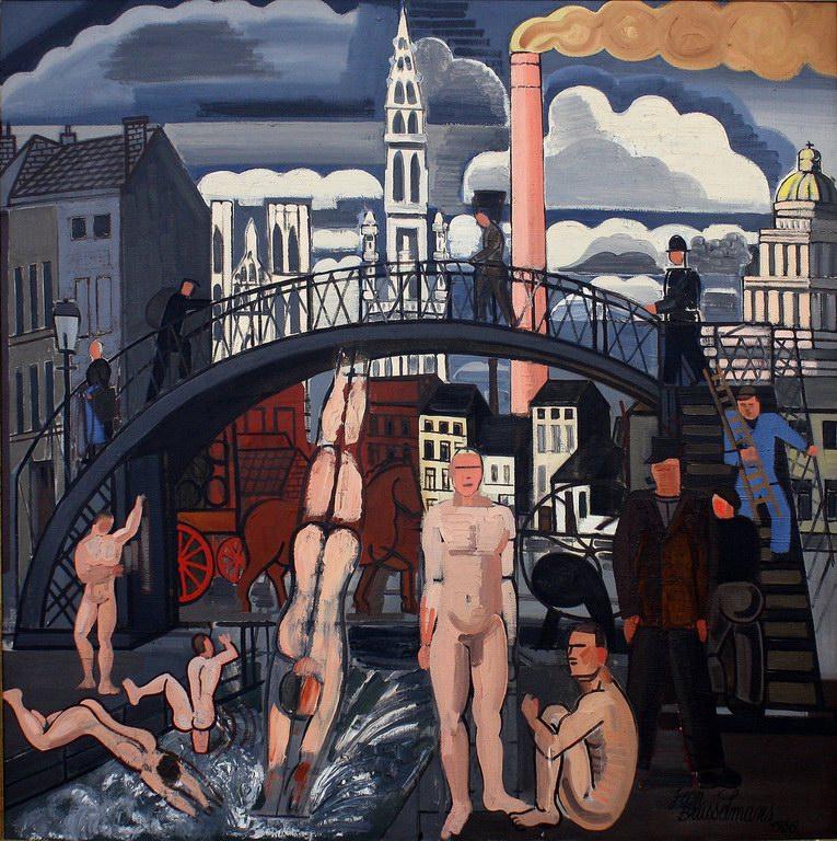 The bath of the vagabonds, 1936