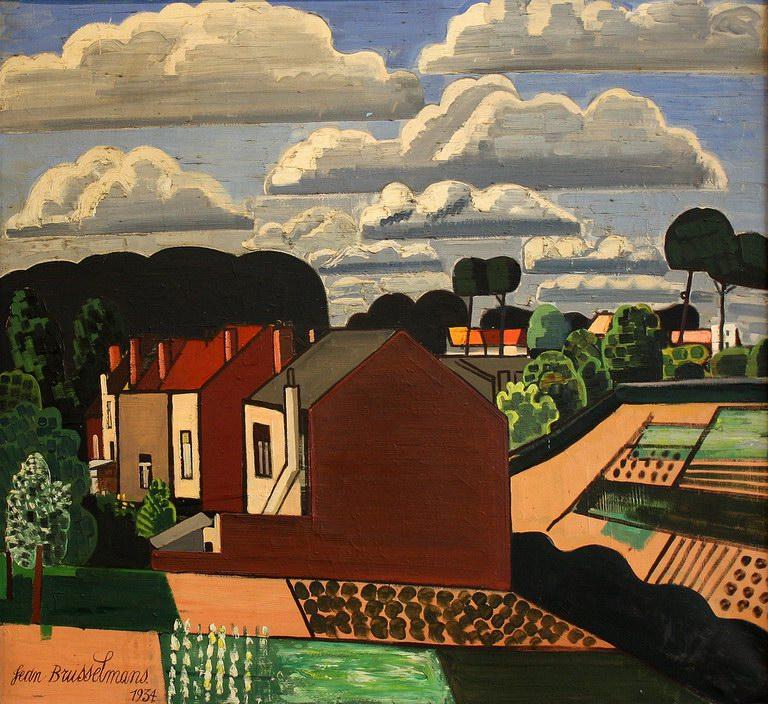 The gardens, 1934