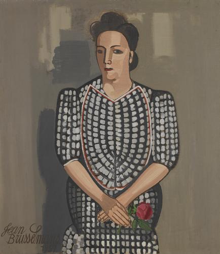 De dame met de roos