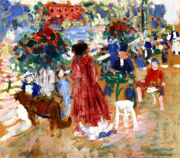 On the Terrace, The Botanic Gardens, Malines Rik Wouters - 1907