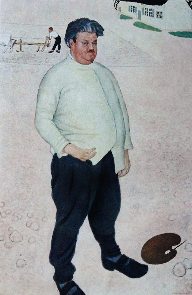 Artist Valerius De Saedeleer by Jan De Cooman
