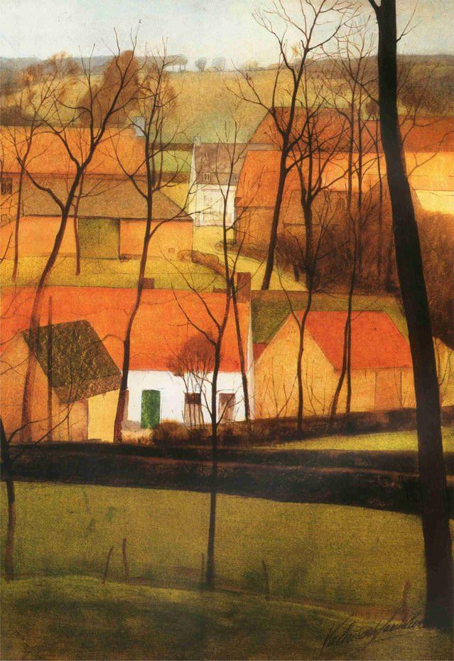 hoek van het dorp