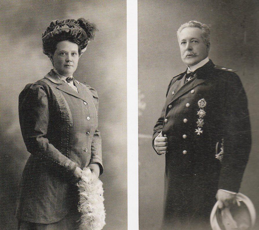 Петр Владимирович и Софья Александровна Веревкины, 1890