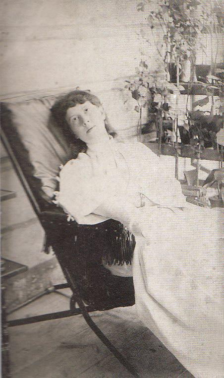 В кресле, 1889