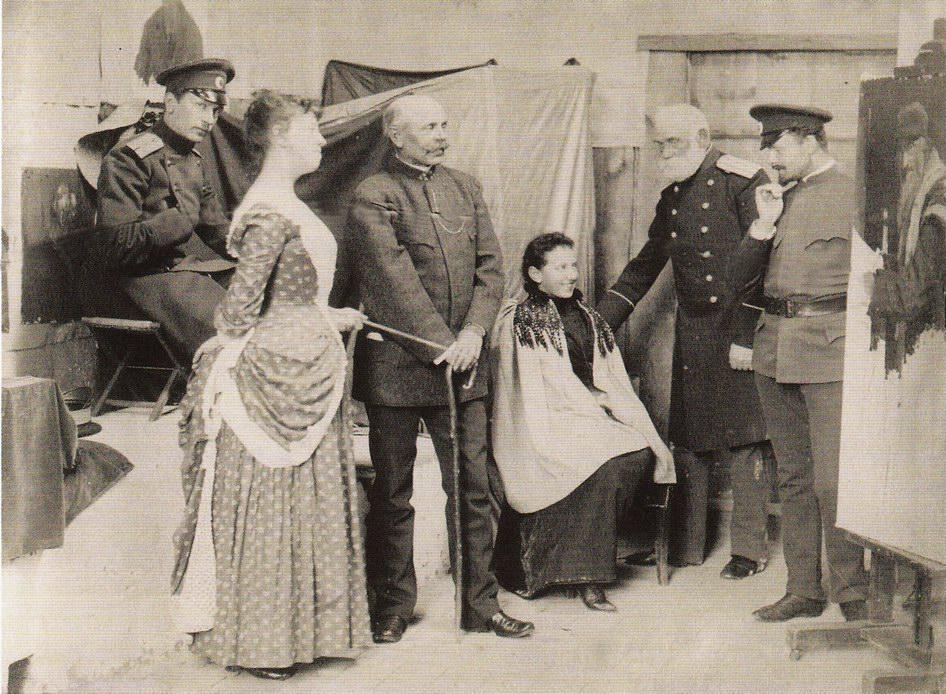 В Ателье, 1893