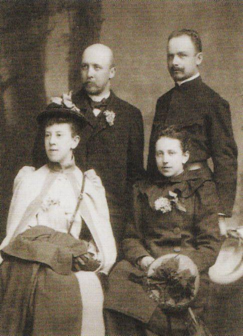 С Алексеем Явленским, Вильнюс,1892